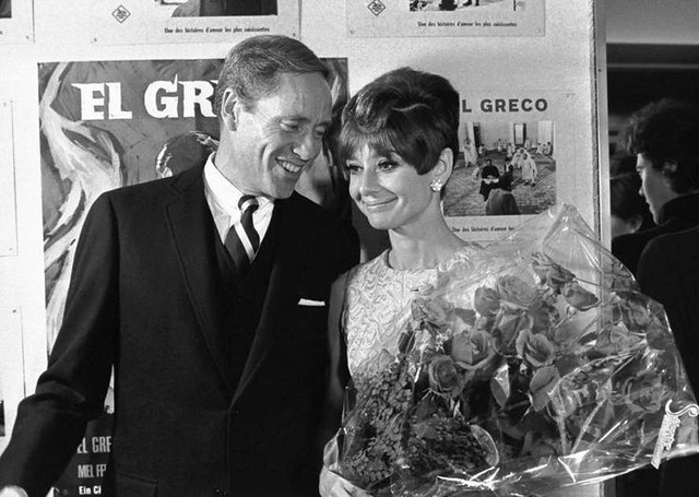 "Premiere of ""El Greco,"" a film starred by Mel Ferrer, Lausanne, Switzerland, October 1966"