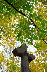 """Cincinnati – Spring Grove Cemetery & Arboretum """"Autumn Cross"""""""