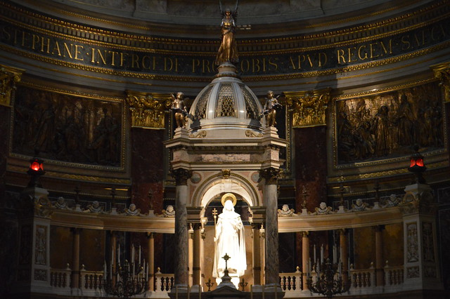 this is a picture of St Stephen's Basilica in Budapest