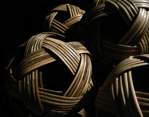 Bamboo Balls For Sale In the Mandalay Wood Carvers' Workshop