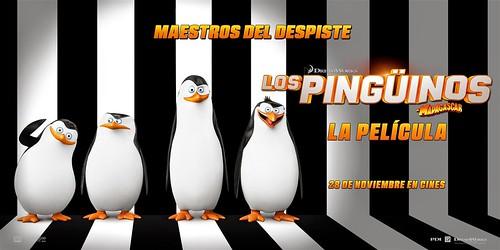 Reseña: Los pingüinos de Madagascar
