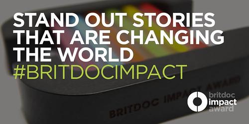 BRITDOC Impact Award Strapline