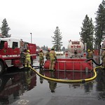Tender Training with Spokane County Fire District #9
