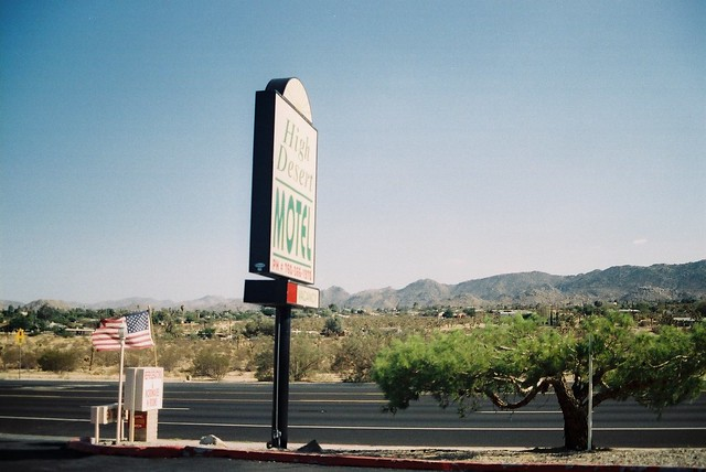 High Desert Motel with Quilt