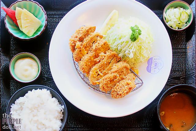 Menchi Katsu with Cheese Set (P375)