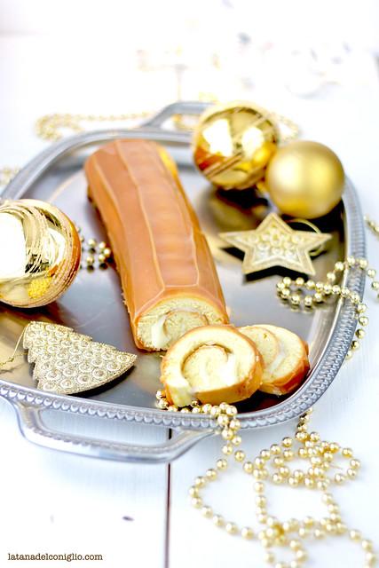 buche de noel caramello e cioccolato bianco2