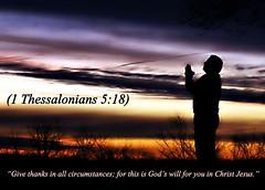 1 Thessalonians 5:18 niv