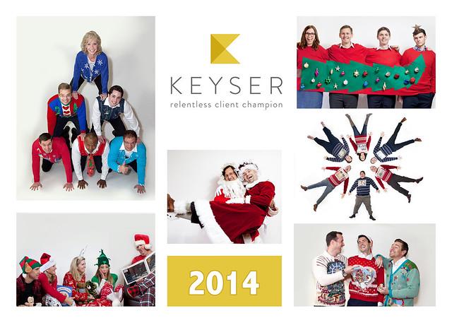 Keyser Christmas Card BACK