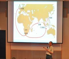 賴建誠教授講座『為什麼鄭成功能趕走荷蘭人-全球經濟的觀點』