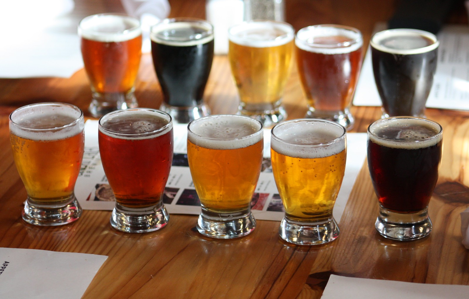 Beer Tasting Sampler at Great Lakes Brewing Co