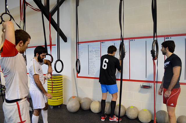 wod en CrossFit Zaragoza