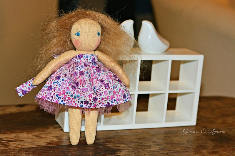 Pocket Bellarina #5 - a 6 inch cloth doll