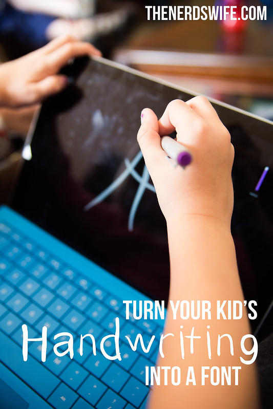 Kids Handwriting Font