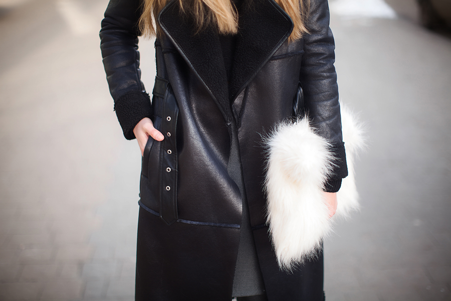 black-shearling-coat-outfit-street-style