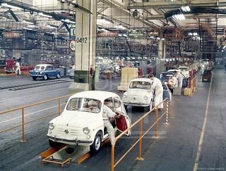 Produzione Fiat 600