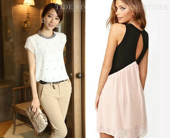 Camisa y vestido