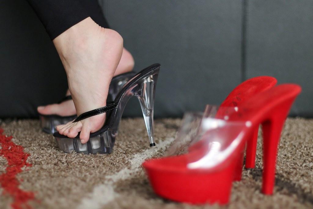 high heels foot fetish № 54118