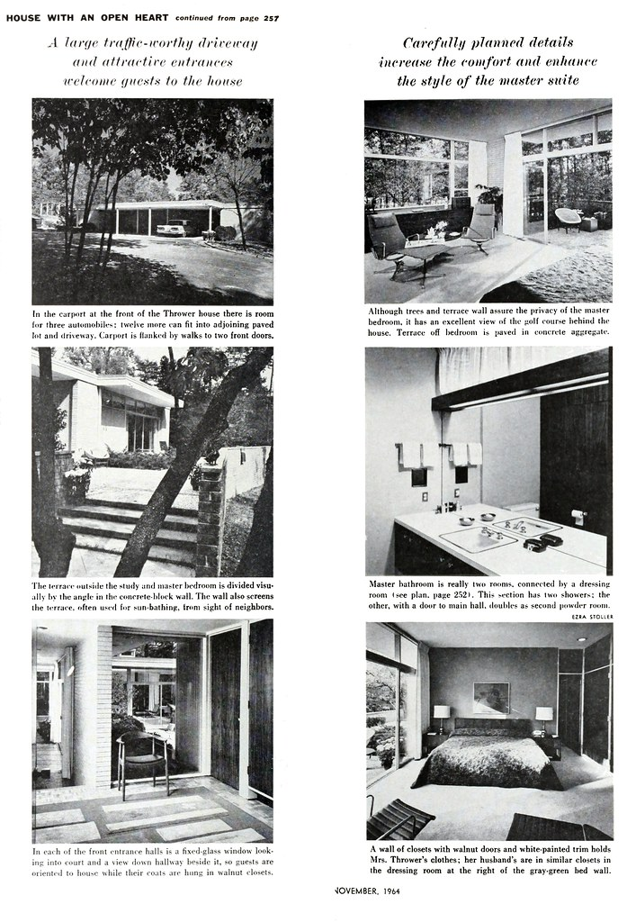 Thrower Residence, Sedgefield, NC, 1962 (Page 4 of 4)