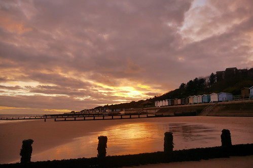 Sunset in Frinton