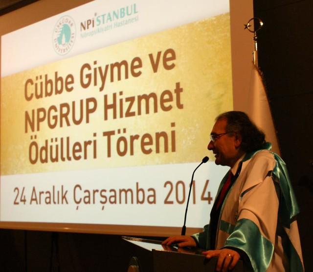 16. Yılında NPGRUP' ta cübbe ve hizmet ödülleri heyecanı yaşandı. 2