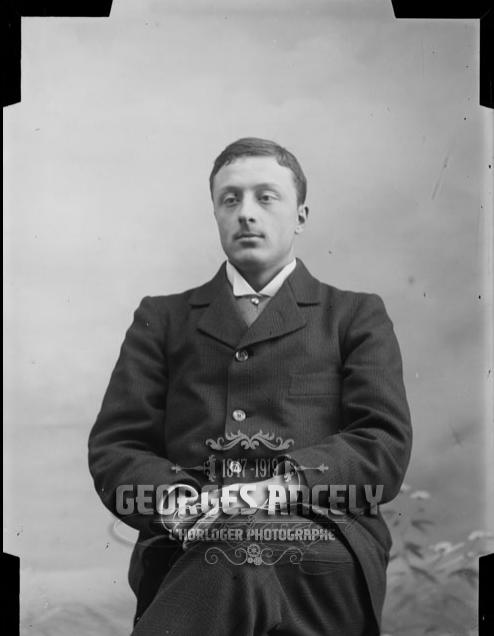 René Ancely en 1897