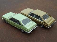 Tatra T 613 Saloon c.1976 & Vignale Coupe c.1974