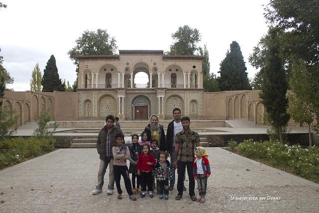 Visita del jardín de Shazdeh,Mahan