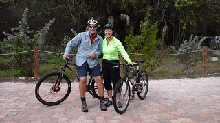 Cycling out on Sanibel Island