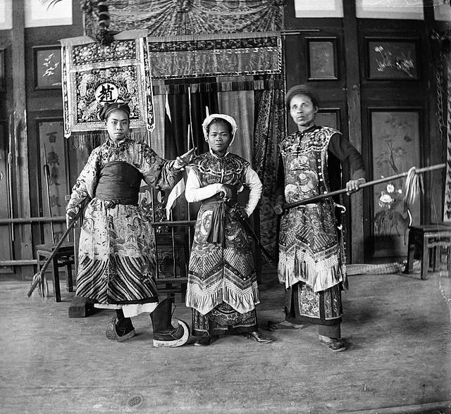 ĐẤU XẢO QUỐC TẾ 1889 TẠI PARIS - Diễn viên tuồng An Nam