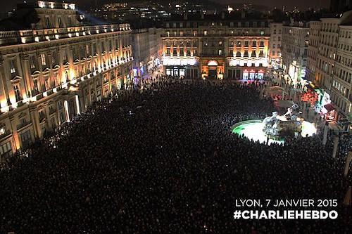 Rassemblement+Terreaux+#JesuisCharlie