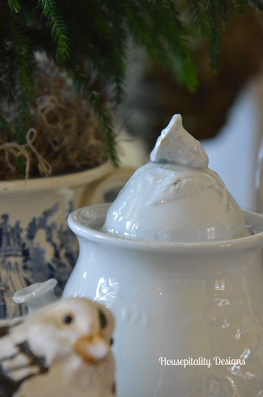 Ironstone Sugar Bowl-Housepitality Designs