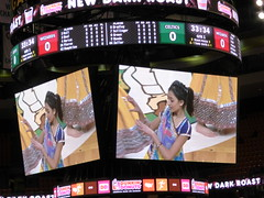 On the Jumbotron