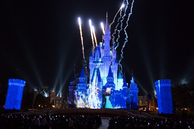 Anna and Elsa's Frozen Fantasy at Tokyo Disneyland