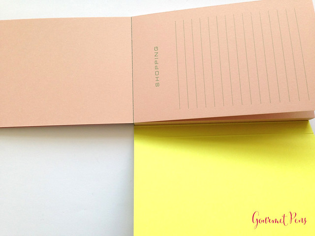 Review: Le Typographe Pocket Shopping List Notepad - Ruled @NoteMakerTweets