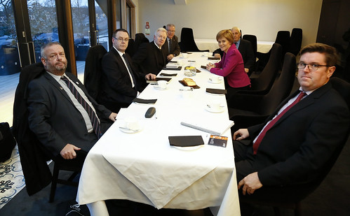 First Minister meeting with Oil and Gas Unions