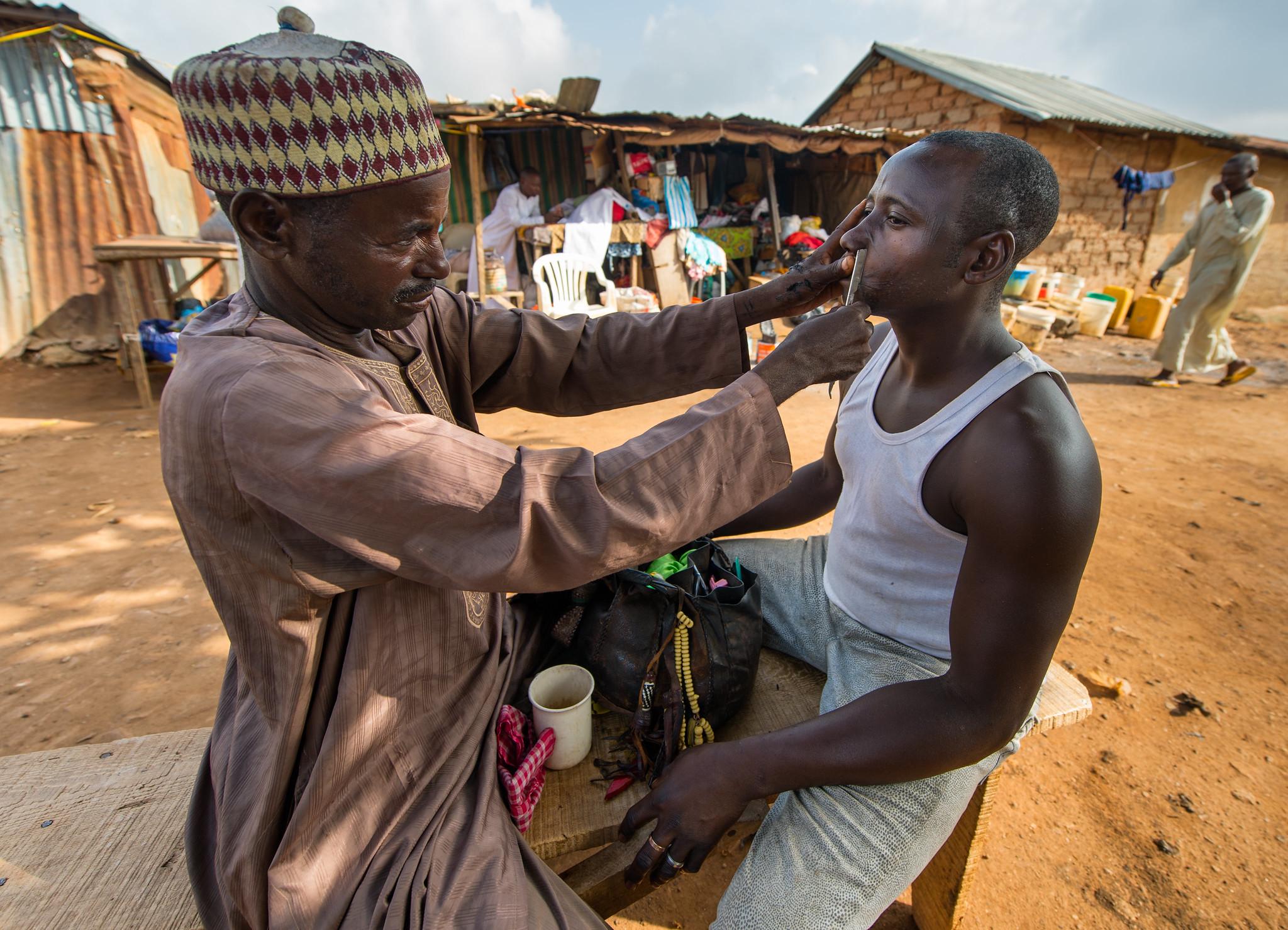 Abuja Slum Barber