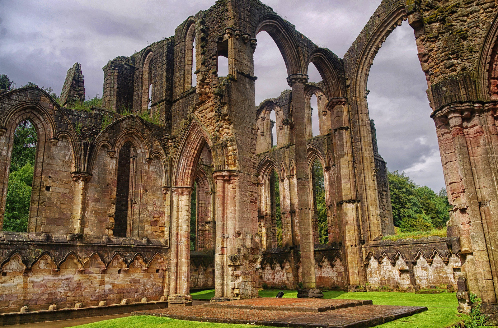 Fountains Abbey. Credit mattbuck