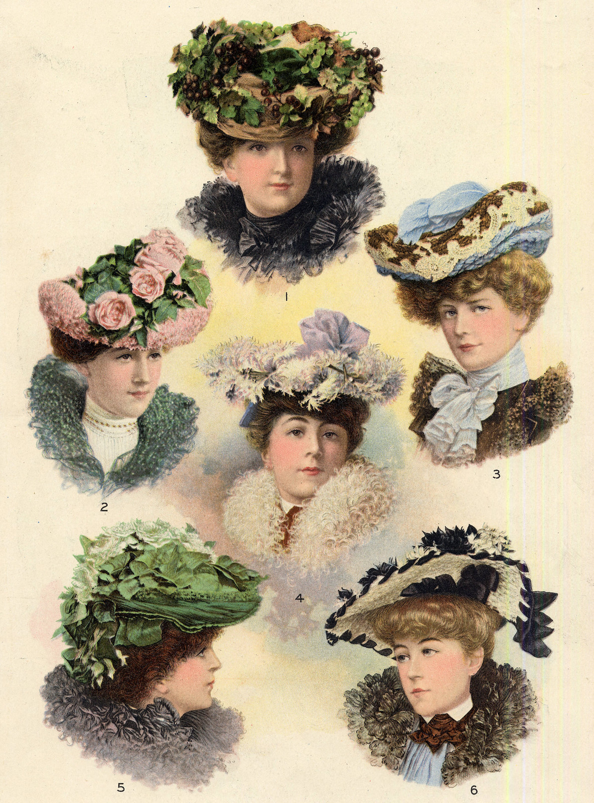 American hats Summer 1902