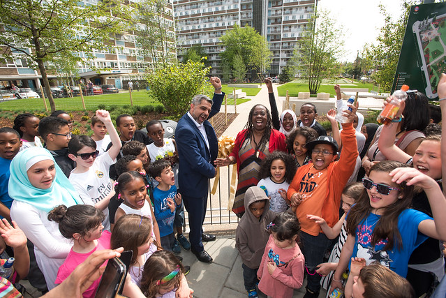 Opening of Woodhouse Urban Park