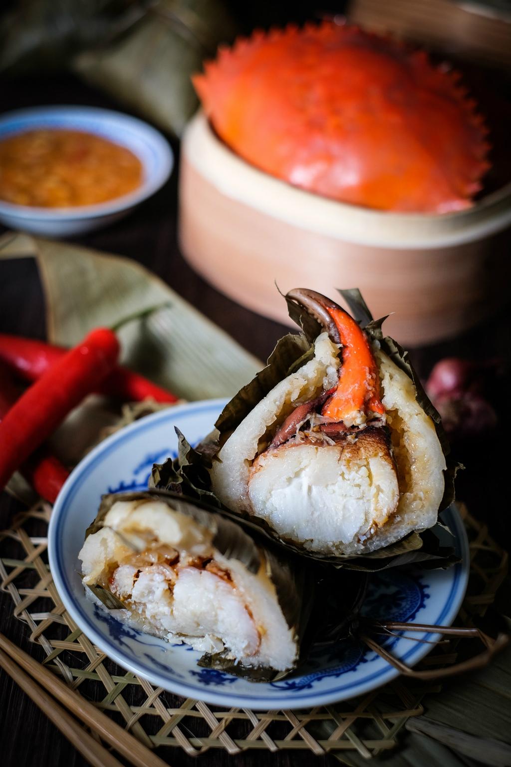 新加坡辣椒蟹粉汤圆黑松露