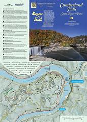 Cumberland Falls State Resort Park Trail Map 2016