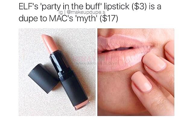 37 makeup dupes