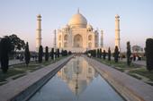 Indien, Trekking in Rajasthan. Taj Mahal in Agra - Wahrzeichen Indiens. Foto: Archiv Härter.