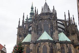 Image of Prague Castle near Hradčany. saintvituscathedral katedrálasvatéhovíta praguecastle pražskýhrad prague praha