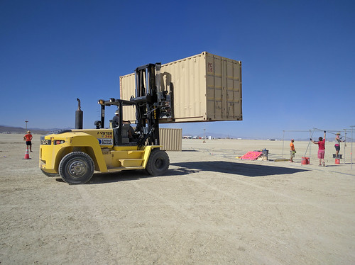 DPW relocates our containers