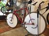 Rare, custom aero Samson #funnybike built at @giragirachariya Osaka. #cycling #cycleporn #cyclelife #bike #bikelife #bikeporn #bikeshop #trackbike #trackcycling #trackbikeporn #fixed #fixedgear #fixedgearbikeporn #fixie #fixieporn #njs #giracha #giragirac