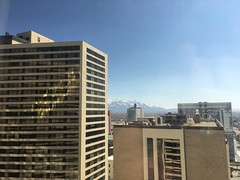 Salt Lake City View from the Hilton