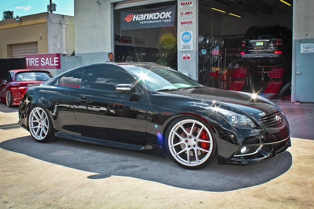 2013 infiniti g37s coupe velgen vmb5 custom painted gloss silver lowered a photo on flickriver. Black Bedroom Furniture Sets. Home Design Ideas