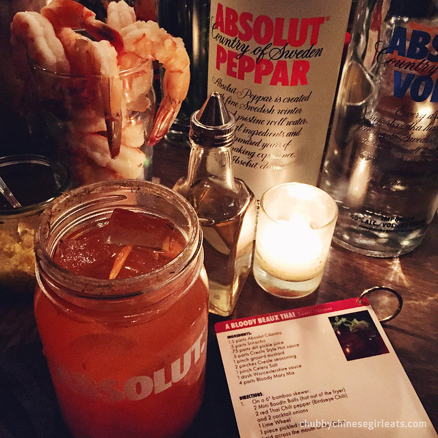 absolut best bloody mary in america - a bloody beaux thai