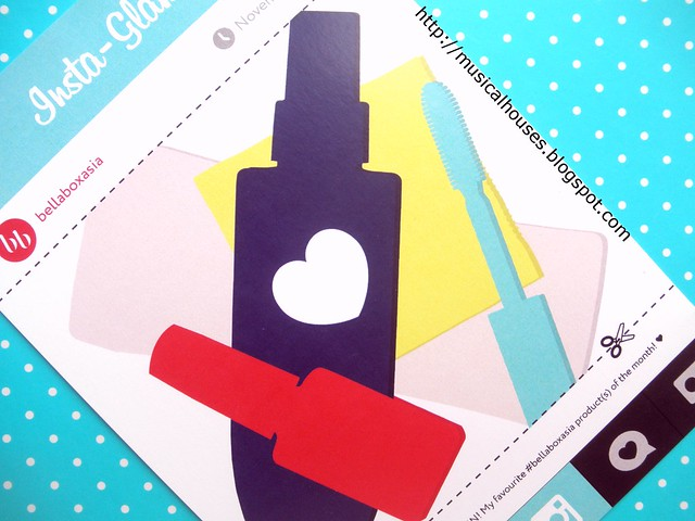 Bellabox November InstaGlam Card